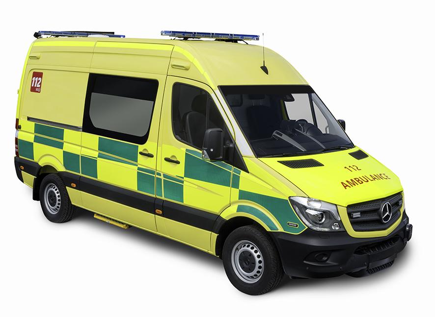 Ambulance Van - Autographe